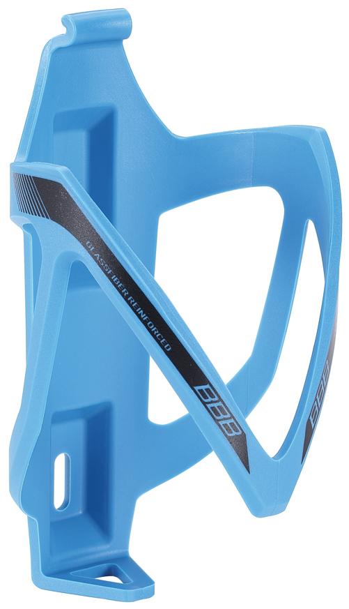 Флягодержатель BBB CompCage, цвет: синий. BBC-19BBC-19Невероятно легкий и надежный флягодержатель BBB CompCage выполнен из высококачественного фибергласса (стеклопластика). Обеспечивает высокую безопасность и надежную фиксацию бутылке, крепится на раму болтами из нержавейки. Модель имеет легкий вес (38 г).