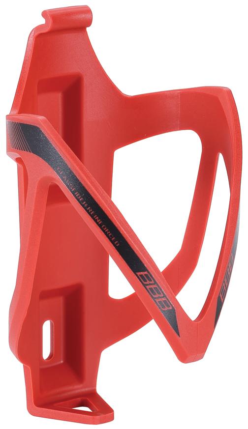 Флягодержатель BBB CompCage, цвет: красный. BBC-19BBC-19Невероятно легкий и надежный флягодержатель BBB CompCage выполнен из высококачественного фибергласса (стеклопластика). Обеспечивает высокую безопасность и надежную фиксацию бутылке, крепится на раму болтами из нержавейки. Модель имеет легкий вес (38 г).