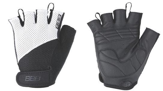 Перчатки велосипедные BBB Chase, цвет: черный, белый. BBW-49. Размер MBBW-49Комфортные летние перчатки. Максимальная вентиляция за счет тыльной стороны перчаток из сетчатого материала. Ладонь из материала Serino с гелевыми вставками для большего комфорта. Застежки велькро (Система WristLock). Вставка для удаления влаги/пота.