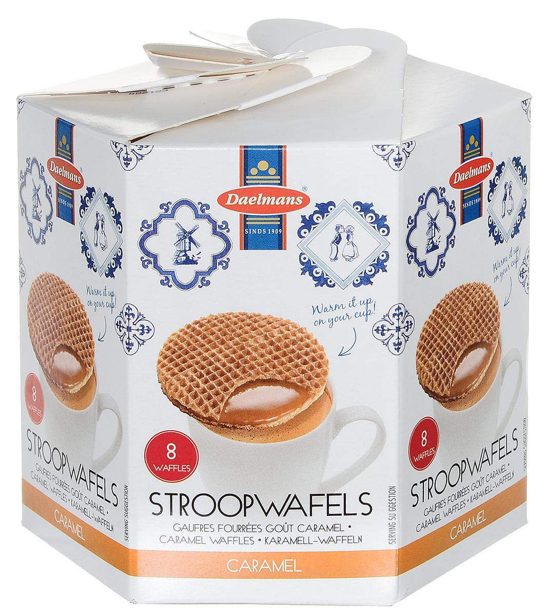 Daelmans бисквитные вафли с карамельной начинкой, 230 г