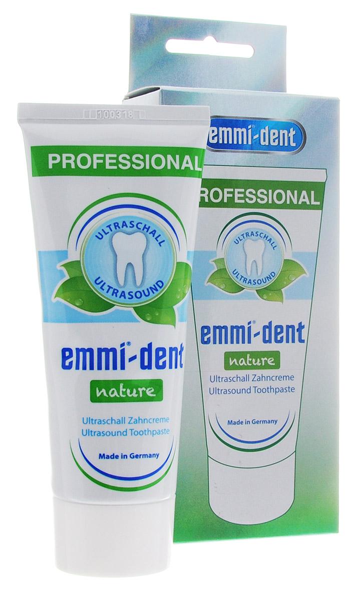 Emmi-Dent Nature зубная паста для ультразвуковой щетки натуральная, 75 мл65103Объем 75 мл.