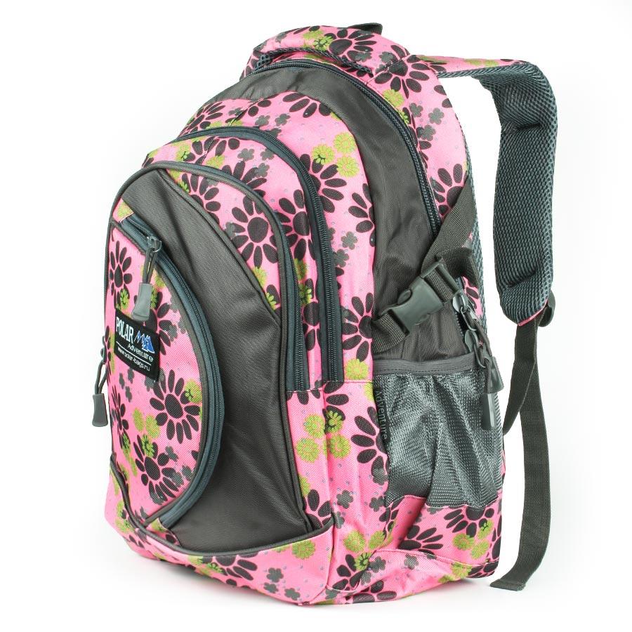 Рюкзак городской Polar, 29 л, цвет: розовый. 80072