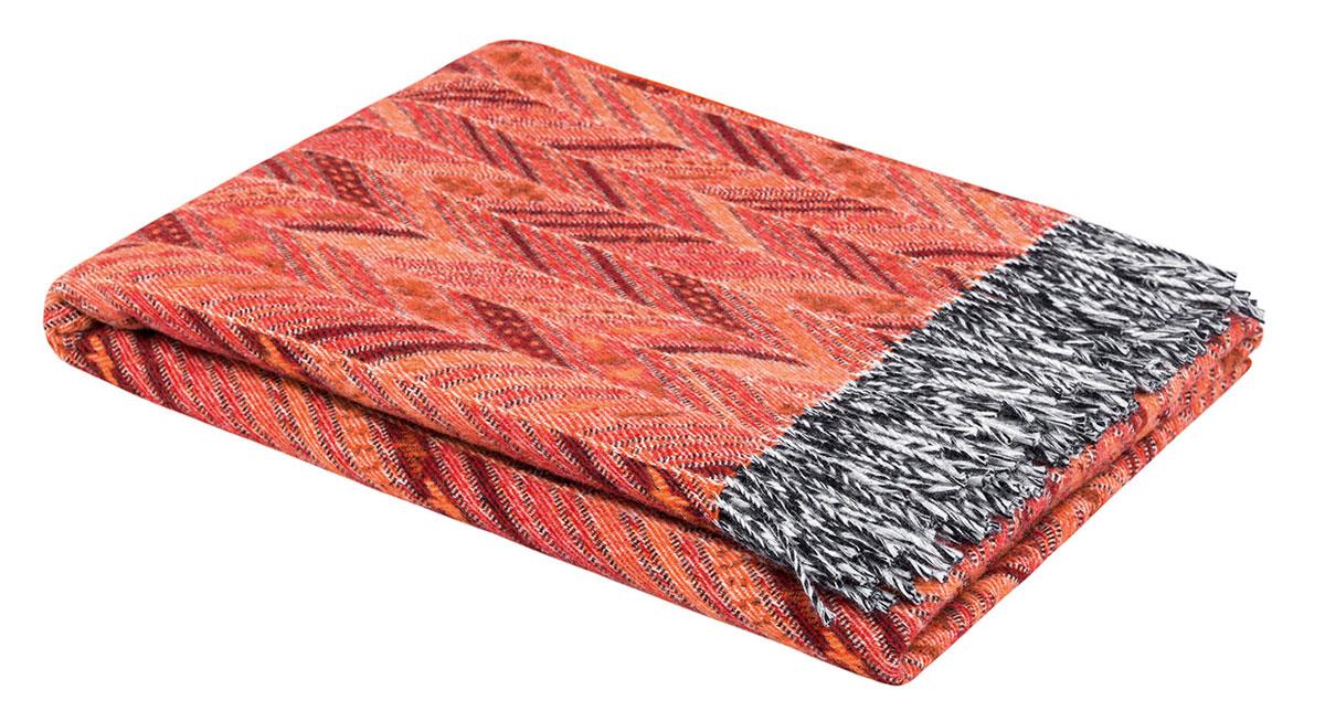Togas Плед Берта, 130 см х 180 см20.03.10.0065Состав: 100% шерсть мериноса. Детали: классический шерстяной плед с бахромой, нейтральный текстурный орнамент. Цвет: оранжевый. Размер: 130х180 см. Уход: ручная стирка в теплой воде (не выше 30 градусов) с использованием деликатных чистящих средств для шерсти, преимущественно с содержанием ланолина (животный воск). При отжиме не перекручивать. Чтобы убрать лишнюю влагу, сложить плед в несколько раз и аккуратно надавить. Cушить, разложив на ровной горизонтальной поверхности, предварительно подложив под плед мягкую хлопчатобумажную ткань, обеспечив свободный доступ свежего воздуха. Плед необходимо регулярно проветривать. Не отбеливать. Не гладить.