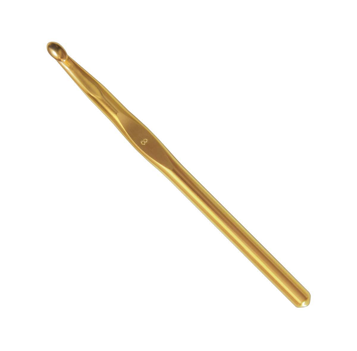 ADDI Крючок, вязальный, алюминий, №12, 15 см245-7/12-15Очень гладкая рабочая поверхность. Алюминий делает крючок очень легким. Крючки представляют собой даже больше аксессуар, чем инструмент, так как великолепно выполены производителем