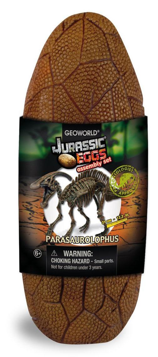 Geoworld Сборная модель Яйцо динозавра Юрского периода Паразауролоф
