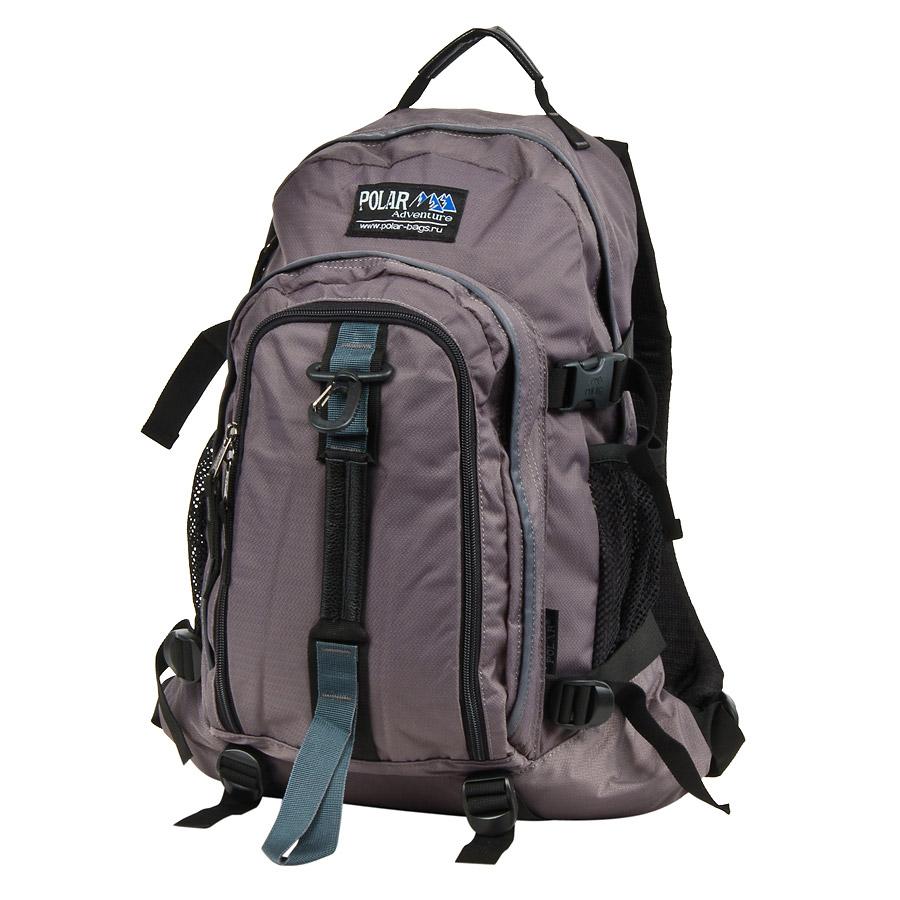 Рюкзак городской Polar, 27 л, цвет: серый. П3955-06П3955-06Городской рюкзак с модным дизайном. Полностью вентилируемая и удобная мягкая спинка, мягкие плечевые лямки создают дополнительный комфорт при ношении. Центральный отсек для персональных вещей и документов A4 на двухсторонних молниях для удобства. Маленький карман для mp3, CD плеера. Два боковых кармана под бутылки с водой на резинке. Регулирующая грудная стяжка с удобным фиксатором. Регулирующий поясной ремень, удерживает плотно рюкзак на спине, что очень удобно при езде на велосипеде или продолжительных походах. Система циркуляции воздуха Air. Материал Polyester PU 600D.