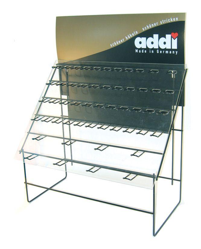ADDI Стенд для спиц и крючков, 66 см х 52 см х 30 см