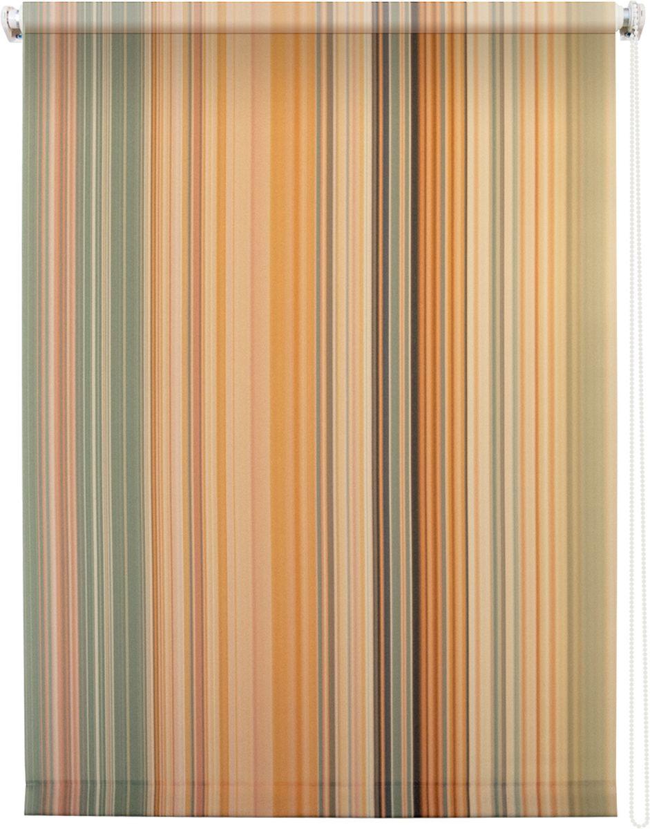 Штора рулонная Уют Спектр, 120 х 175 см62.РШТО.8990.120х175Штора рулонная Уют Спектр выполнена из прочного полиэстера с обработкой специальным составом, отталкивающим пыль. Ткань не выцветает, обладает отличной цветоустойчивостью и хорошей светонепроницаемостью. Изделие оформлено принтом в мелкую вертикальную полоску, отлично подойдет для спальни, гостиной, кухни или кабинета. Штора закрывает не весь оконный проем, а непосредственно само стекло и может фиксироваться в любом положении. Она быстро убирается и надежно защищает от посторонних взглядов. Компактность помогает сэкономить пространство. Универсальная конструкция позволяет крепить штору на раму без сверления, также можно монтировать на стену, потолок, створки, в проем, ниши, на деревянные или пластиковые рамы. В комплект входят регулируемые установочные кронштейны и набор для боковой фиксации шторы. Возможна установка с управлением цепочкой как справа, так и слева. Изделие при желании можно самостоятельно уменьшить. Такая штора станет прекрасным элементом...