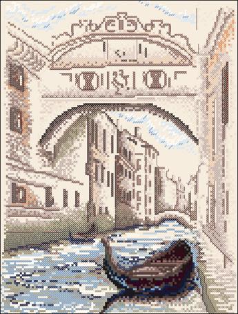 Набор для вышивания Марья Искусница Улица Венеции, 17 см х 22 см. 02.008.0302.008.03Набор для вышивания Улица Венеции 17 х 22 см В наборах Марья Искусница используются только высококачественные материалы - канва Aida (Германия), мулине Finca (Испания).