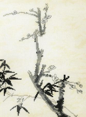 Набор для вышивания Марья Искусница Бамбук и сакура по рисунку Ши Тао, 20 см х 28 см. 03.018.0203.018.02Набор для вышивания Бамбук и сакура по рисунку Ши Тао. канва Aida14 бежевый винтаж, мулине Finca 5цв. счетный крест 20х28 см . В наборах Марья Искусница используются только высококачественные материалы - канва Aida (Германия), мулине Finca (Испания). канва Aida14 бежевый винтаж, мулине Finca 5цв