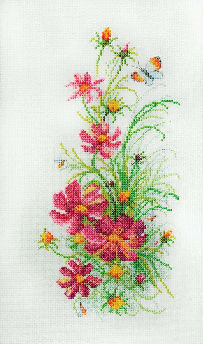 Набор для вышивания Марья Искусница Цветы осени по рисунку О. Цуриной, 15 см х 31 см. 04.011.0104.011.01Набор для вышивания Цветы осени по рисунку О. Цуриной 15 х 31 см В наборах Марья Искусница используются только высококачественные материалы - канва Aida (Германия), мулине Finca (Испания).