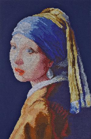 Набор для вышивания Марья Искусница Девушка с жемчужной серьгой Я. Вермеер, 30 см х 40 см. 06.001.0506.001.05Набор для вышивания Девушка с жемчужной серьгой по картине Я. Вермеера 30 х 40 см В наборах Марья Искусница используются только высококачественные материалы - канва Aida (Германия), мулине Finca (Испания).