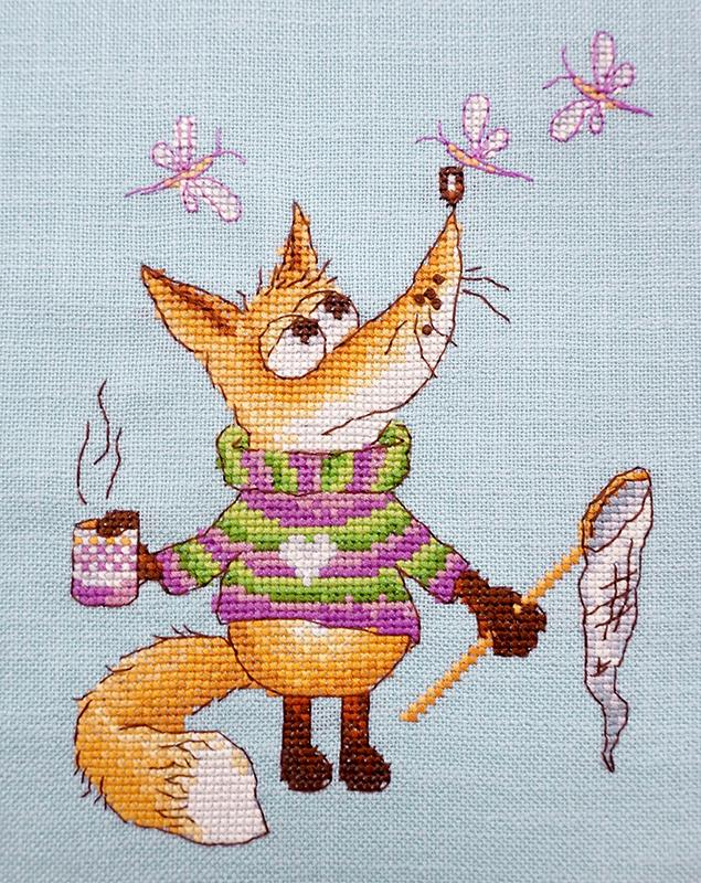 """Набор для вышивания Марья Искусница """"Ловец"""" по рисунку О. Куреевой, 15 см х 18 см. 07. 002. 11"""