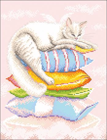 Набор для вышивания крестом Марья Искусница Ангел сладких снов, 20 х 25 см07.010.03Набор для вышивания крестом Марья искусница Ангел сладких снов поможет создать красивую вышитую картину. Рисунок-вышивка, выполненный на канве, выглядит стильно и модно. Вышивание отвлечет вас от повседневных забот и превратится в увлекательное занятие! Работа, сделанная своими руками, не только украсит интерьер дома, придав ему уют и оригинальность, но и будет отличным подарком для друзей и близких! Набор содержит все необходимые материалы для вышивки на канве в технике счетный крест. Схема вышивания Вид на колокольню выполнена по рисунку А. Логиновой. В набор входит: - канва Aida Zweigart №14 (нежно-розового цвета), - мулине Finca - 100% мерсеризованный хлопок (23 цвета), - черно-белая символьная схема, - инструкция на русском языке, - игла. Размер готовой работы: 20 х 25 см. Размер канвы: 30 х 35 см. УВАЖАЕМЫЕ КЛИЕНТЫ! Обращаем ваше внимание, на тот факт, что...