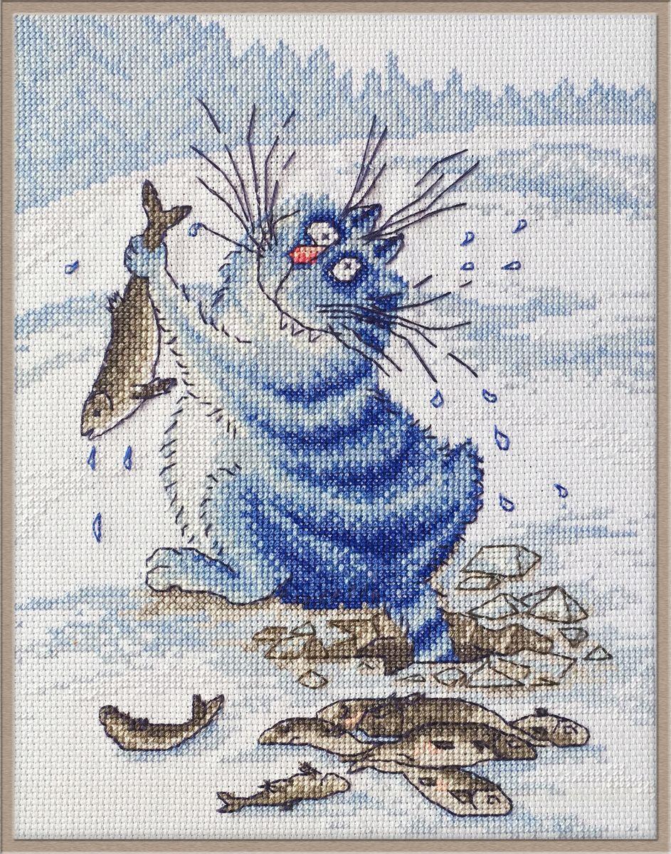 Набор для вышивания Марья Искусница Азартный рыбак по рисунку И. Зенюк, 20 см х 25 см. 07.011.0607.011.06Набор для вышивания Азартный рыбак по рисунку И. Зенюк 20 х 25 см В наборах Марья Искусница используются только высококачественные материалы - канва Aida (Германия), мулине Finca (Испания).
