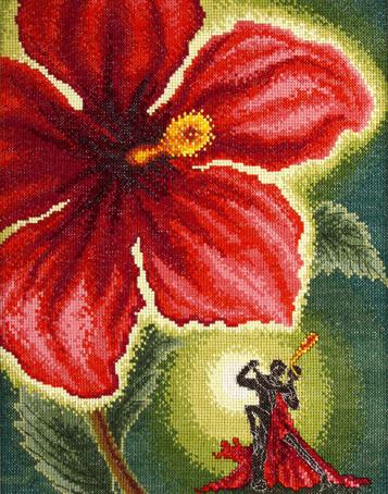 Набор для вышивания Марья Искусница Танец страсти, 30 см х 25 см. 08.003.0408.003.04Набор для вышивания Танец страсти 30 х 25 см В наборах Марья Искусница используются только высококачественные материалы - канва Aida (Германия), мулине Finca (Испания).