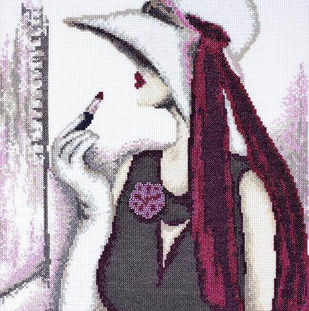 Набор для вышивания Марья Искусница Мода по рисунку Н. Ломакиной, 30 см х 30 см. 09.006.0109.006.01Набор для вышивания Мода по рисунку Н. Ломакиной 30 х 30 см В наборах Марья Искусница используются только высококачественные материалы - канва Aida (Германия), мулине Finca (Испания).