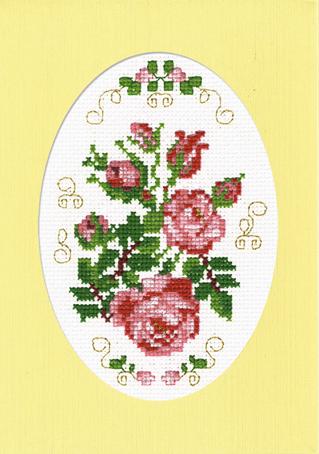 Набор для вышивания открытки Марья Искусница