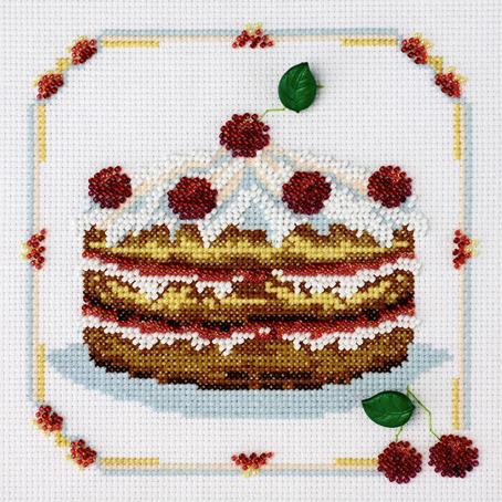 Набор для вышивания Марья Искусница Десерт, 15 см х 15 см. 13.003.0113.003.01Набор для вышивания Десерт канва Aida 14 белая, мулине Finca 7 цв.,бисер MILL HILL 5цв, декоративная пуговица 2шт., счетный крест с элементами вышивки бисером, 15х15 см В наборах Марья Искусница используются только высококачественные материалы - канва Aida (Германия), мулине Finca (Испания). канва Aida 14 белая, мулине Finca 7 цв.,бисер MILL HILL 5цв, декоративная пуговица 2шт.