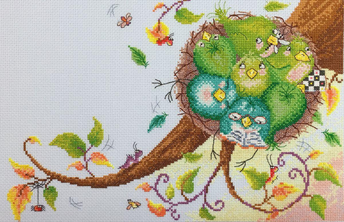"""Набор для вышивания крестом Марья Искусница """"Милый дом"""", 35 х 23 см"""