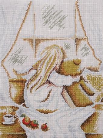 Набор для вышивания Марья Искусница Твое утро по рисунку А.Логиновой, 30 см х 40 см. 07.010.0707.010.07Набор для вышивания Твое утро по рисунку А.Логиновой, канва Аида 14 (розовая),мулине Finca (15 цв.), счетный крест, 30 х 40 см В наборах Марья Искусница используются только высококачественные материалы - канва Aida (Германия), мулине Finca (Испания). канва Aida 14 (розовая) , мулине Finca (15 цв.)
