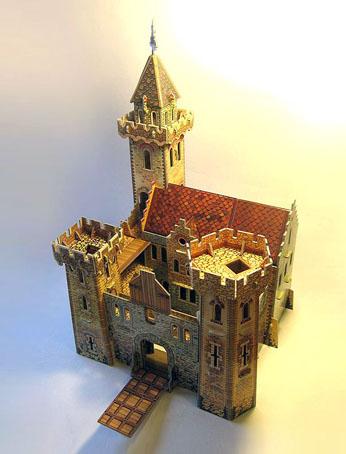 Набор из картона Умна бумага Рыцарский замок. 207