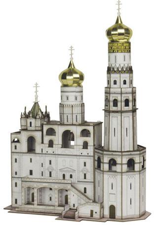 Набор из картона Умна бумага Колокольня Иван Великий. 326