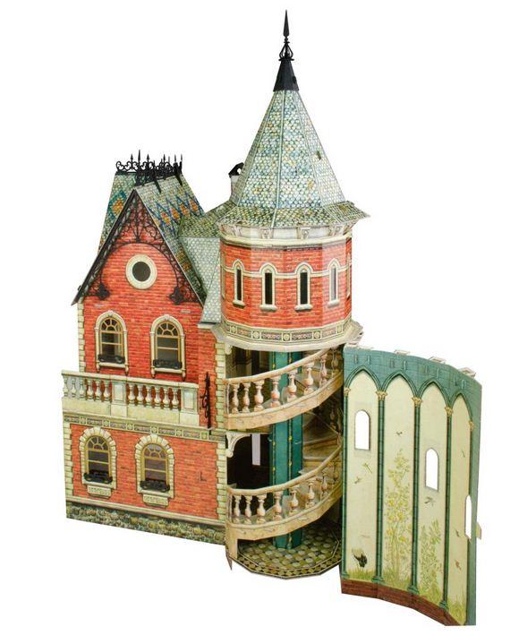 Набор из картона Умна бумага Кукольный дом - 3. 343