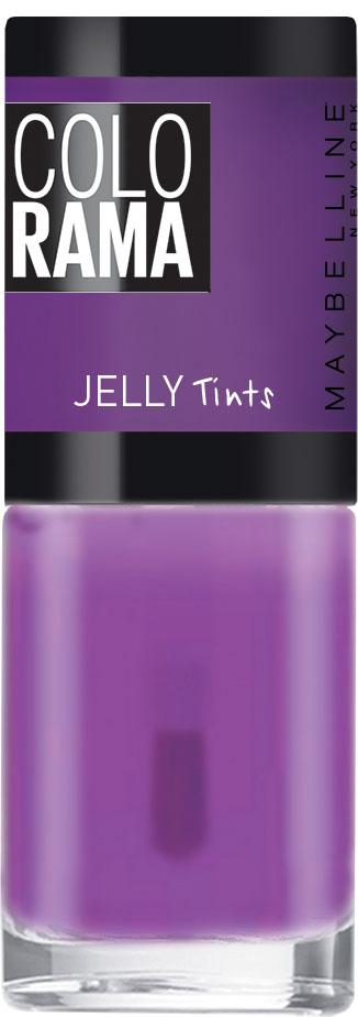 Maybelline New York Лак для ногтей Colorama Коллекция Jelly Tints, оттенок 460, Ежевичный Джем, 7 млB2770100Тренды подиумов Нью-Йорка на твоих ногтях! Новая стильная упаковка, улучшенные оттенки, эксклюзивные коллекции, необычные текстуры и особое настроение!
