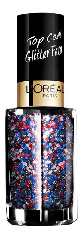 LOreal Paris Верхнее покрытие для ногтей Top Coat, оттенок 954, Канкан, 5 млA8801900Верхнее покрытие Color Riche – самый последний тренд в области маникюра. С помощью уникальной коллекции эффектов теперь возможно придать ногтям совершенно новый, роскошный вид.