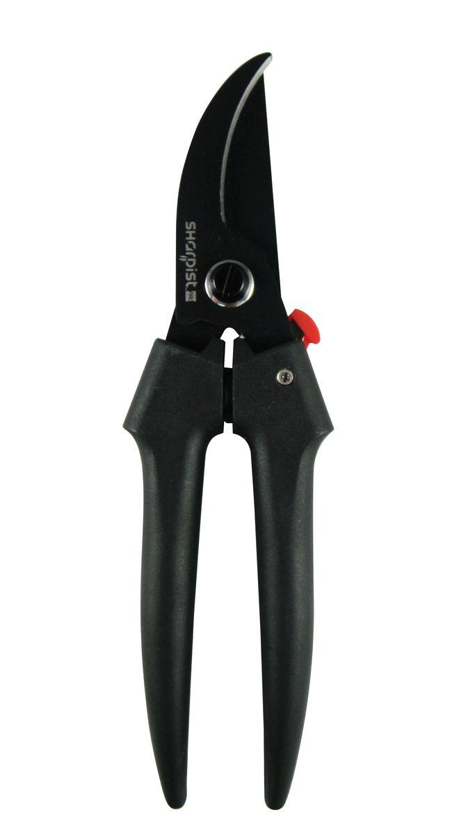 """Ножницы Sharpist """"Pro"""", секатор, 19,1 см, цвет: черный. SPG3140"""