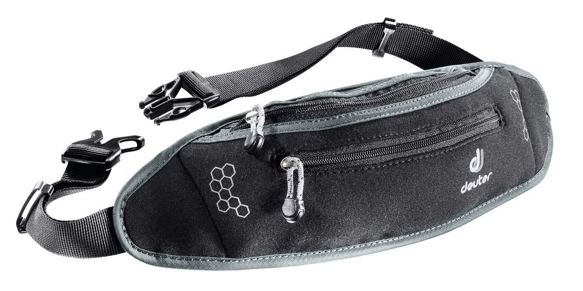 Сумка поясная Deuter Accessories Neo Belt I, цвет: черный, темно-серый39040_7410Эти стильные поясные сумки из неопрена подойдут и для пляжа, и для города, и для загородной пробежки; они хорошо прилегают к телу и практически невесомы.