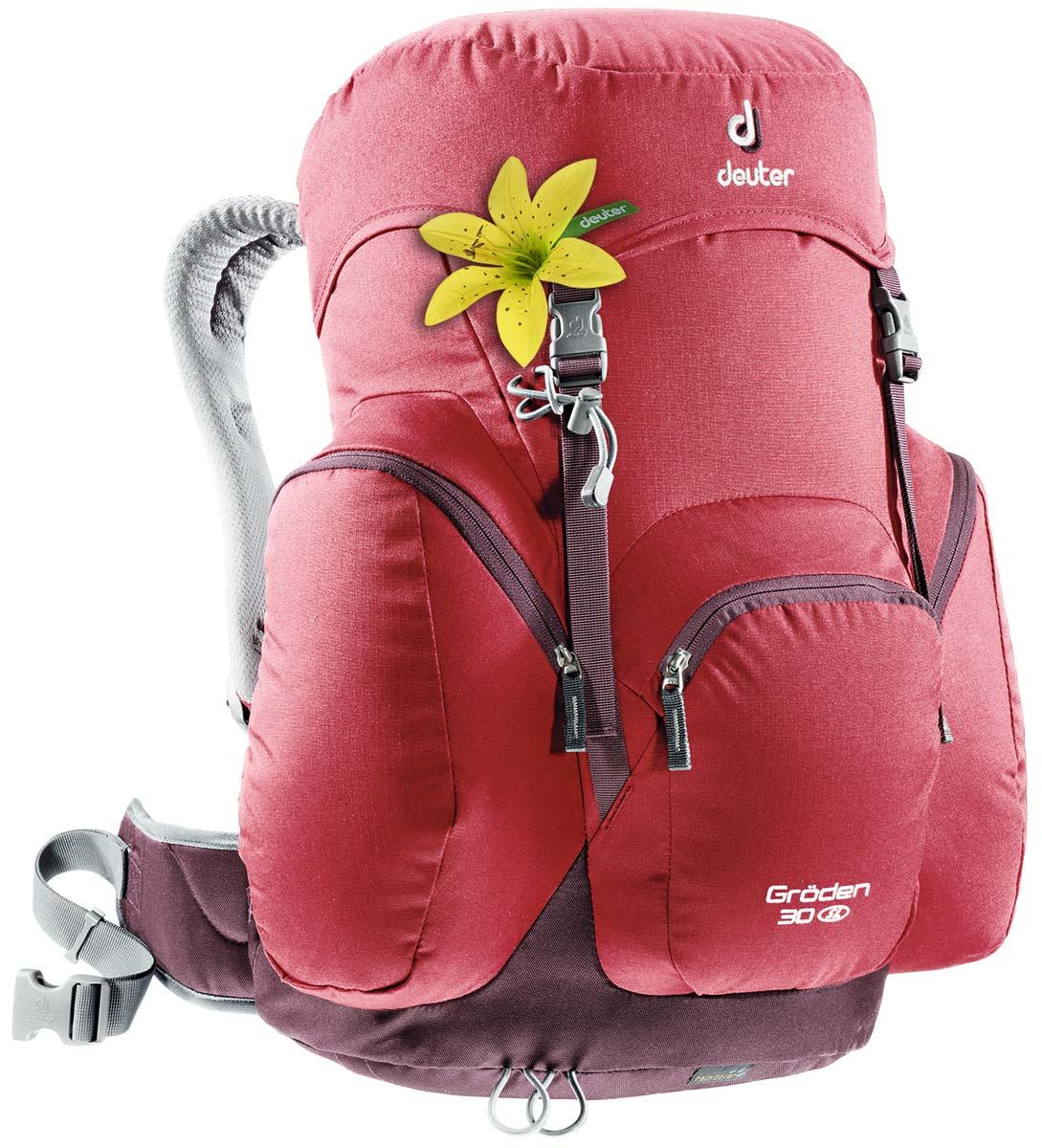 """Рюкзак Deuter """"Groden 30 SL"""", цвет: темно-красный, фиолетовый, 30л"""