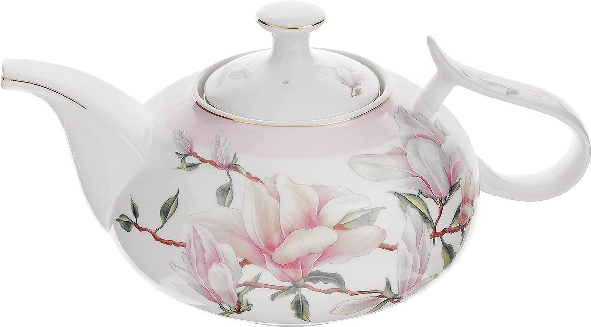 Чайник заварочный Loraine Лилия, с фильтром, 900 мл21144Заварочный чайник Loraine Лилия, изготовленный из высококачественной керамики с глазурованным покрытием, оснащен удобной ручкой, крышкой и металлическим фильтром. Изделие прекрасно подходит для заваривания ароматного чая, травяных настоев и многого другого. Яркий цветочный рисунок придает чайнику особый шарм. Он удобен в использовании и понравится каждому. Заварочный чайник Loraine Лилия станет приятным и практичным подарком на любой праздник. Диаметр чайника (по верхнему краю): 8,5 см. Высота чайника (без учета крышки): 9,5 см. Диаметр фильтра (по верхнему краю): 7,5 см. Высота фильтра: 5 см.