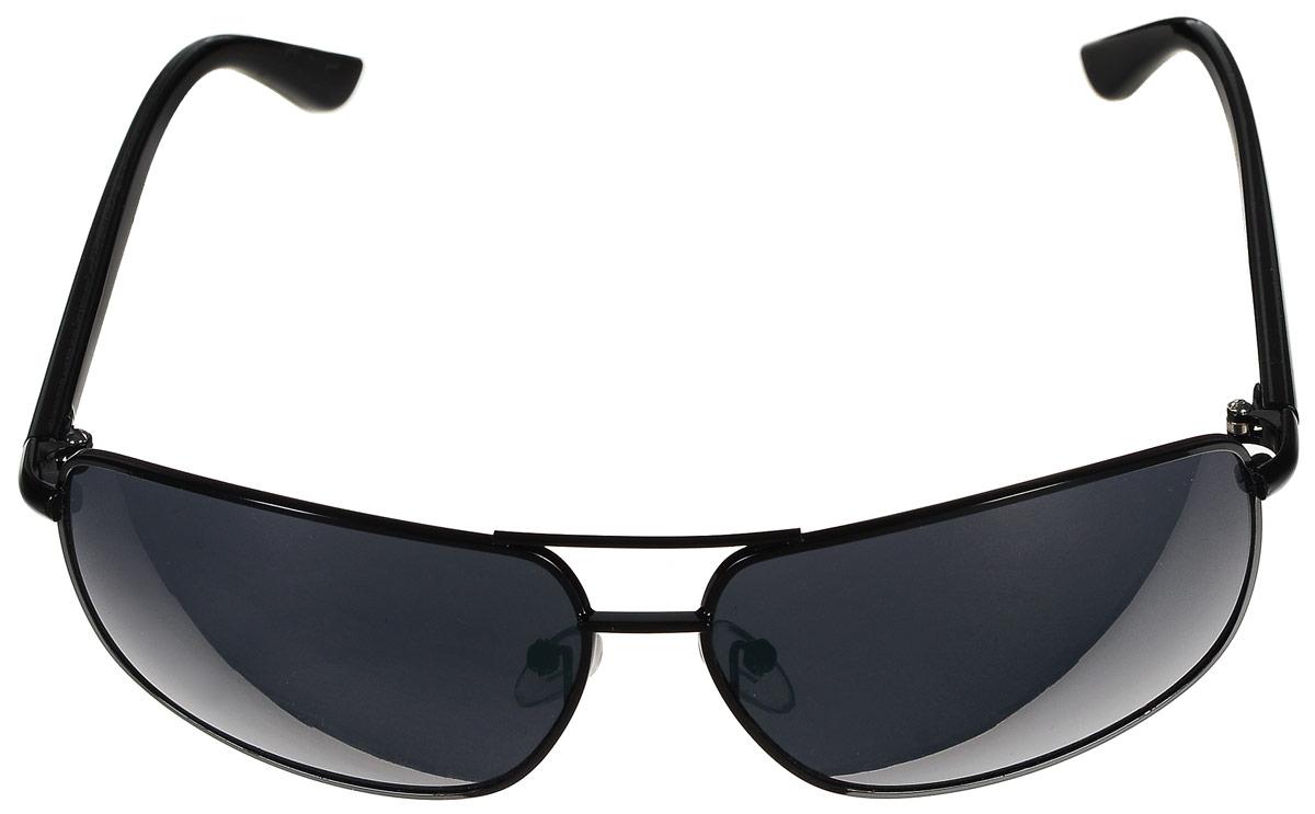 Очки солнцезащитные мужские City Vision Red Label, цвет: черный. 60386038Стильные мужские солнцезащитные очки City Vision Red Label со 100% защитой от ультрафиолетового излучения, выполненные с линзами из высококачественного пластика, подчеркнут вашу индивидуальность и сделают ваш образ завершенным. Используемый пластик не искажает изображение, не подвержен нагреванию и вредному воздействию солнечных лучей. Металлическая оправа очков легкая, прилегающей формы и поэтому не создает никакого дискомфорта. Дужки выполнены из пластика. Очки пригодны для использования в нормальных условиях, без чрезмерной нагрузки. Не допускается класть линзы очков на грубые поверхности. Не допускается оставлять очки на прямом солнечном свете при высоких температурах (например, на панели автомобиля). Использовать только оригинальные аксессуары и запасные части. Условия хранения: в футляре при нормальных климатических условиях. Чистка и обслуживание: Для чистки изделия следует использовать теплую воду и нейтральное мыло. Для чистки линз...