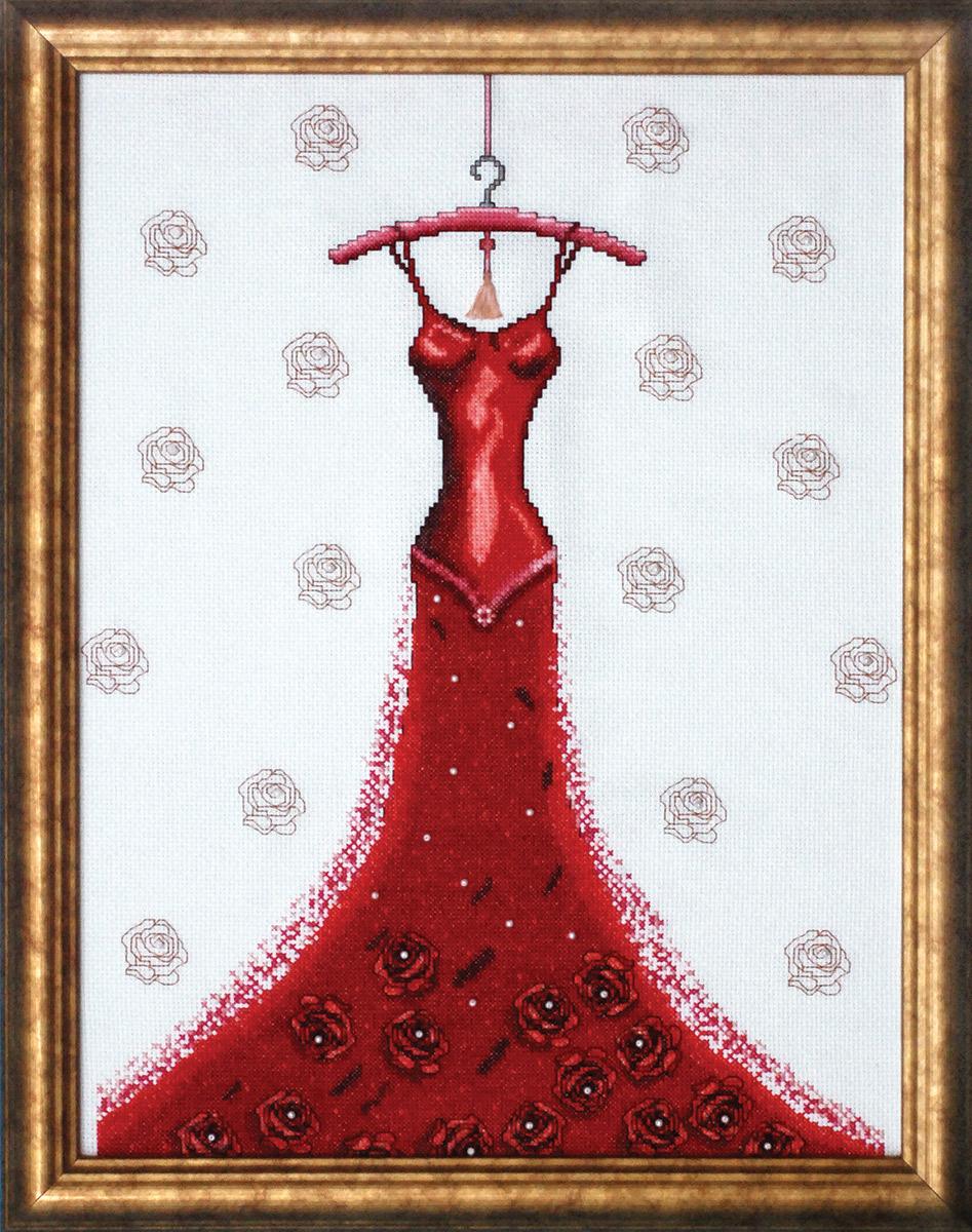 Набор для вышивания крестом Design Works Великолепие вечера, 32,5 х 42,5 см2488В набор входят бусины.