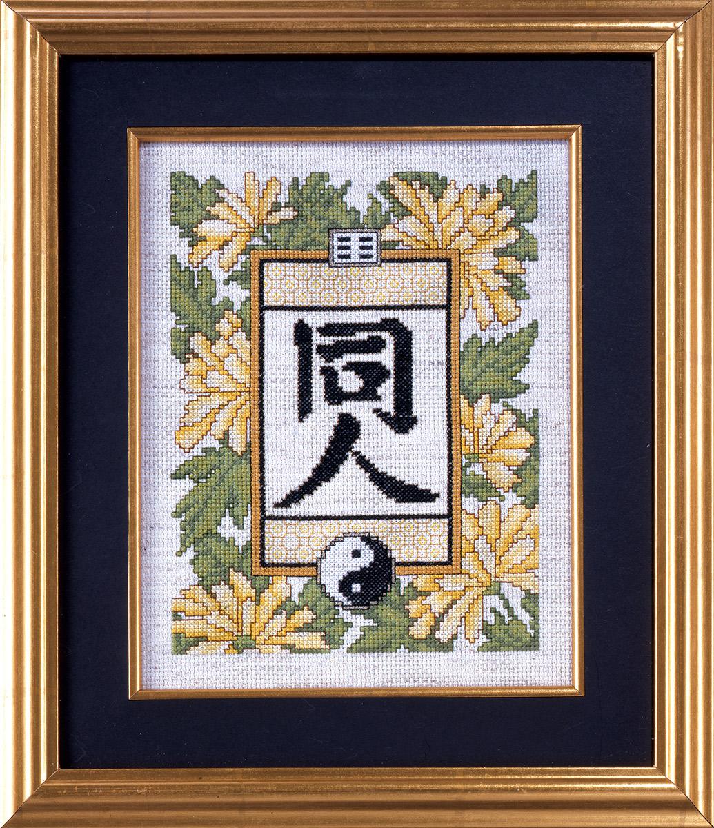 Набор для вышивания крестом Design Works Равновесие, 18 х 23 см9905Канва Аида 14 (100% хлопок), нитки мулине (100% хлопок), игла, подробная инструкция со схемой вышивки на русском языке