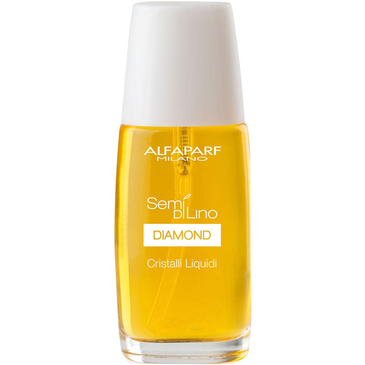 Alfaparf Масло для посеченных кончиков волос, придающее блеск Semi Di Lino Diamond Cristalli Liquidi 16 мл