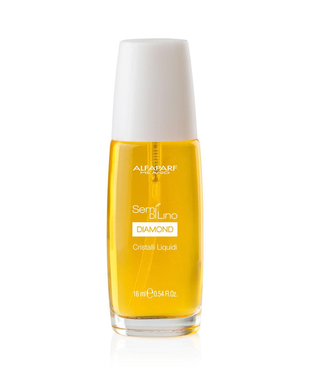 Alfaparf Масло для посеченных кончиков волос, придающее блеск Semi Di Lino Diamond Cristalli Liquidi 50 мл