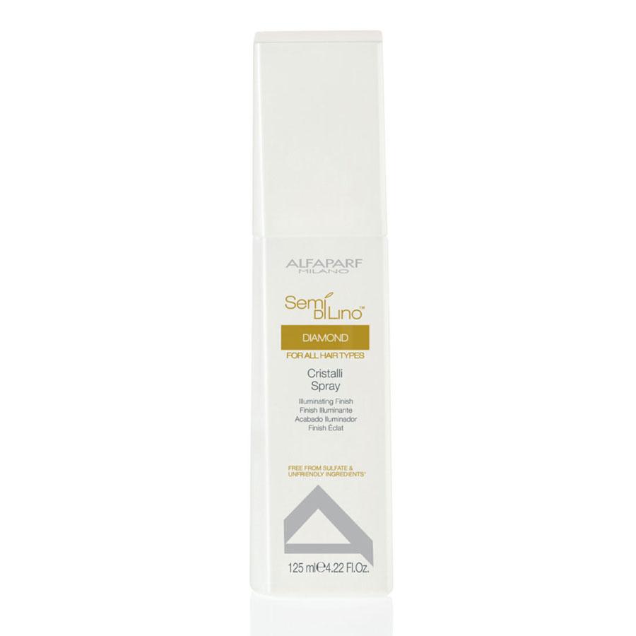 Alfaparf Масло-спрей для посеченных кончиков волос Semi Di Lino Diamond Cristalli Spray 125 мл