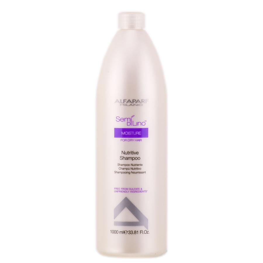Alfaparf Шампунь для сухих волос Semi Di Lino Moisture Nutritive Shampoo 1000 мл