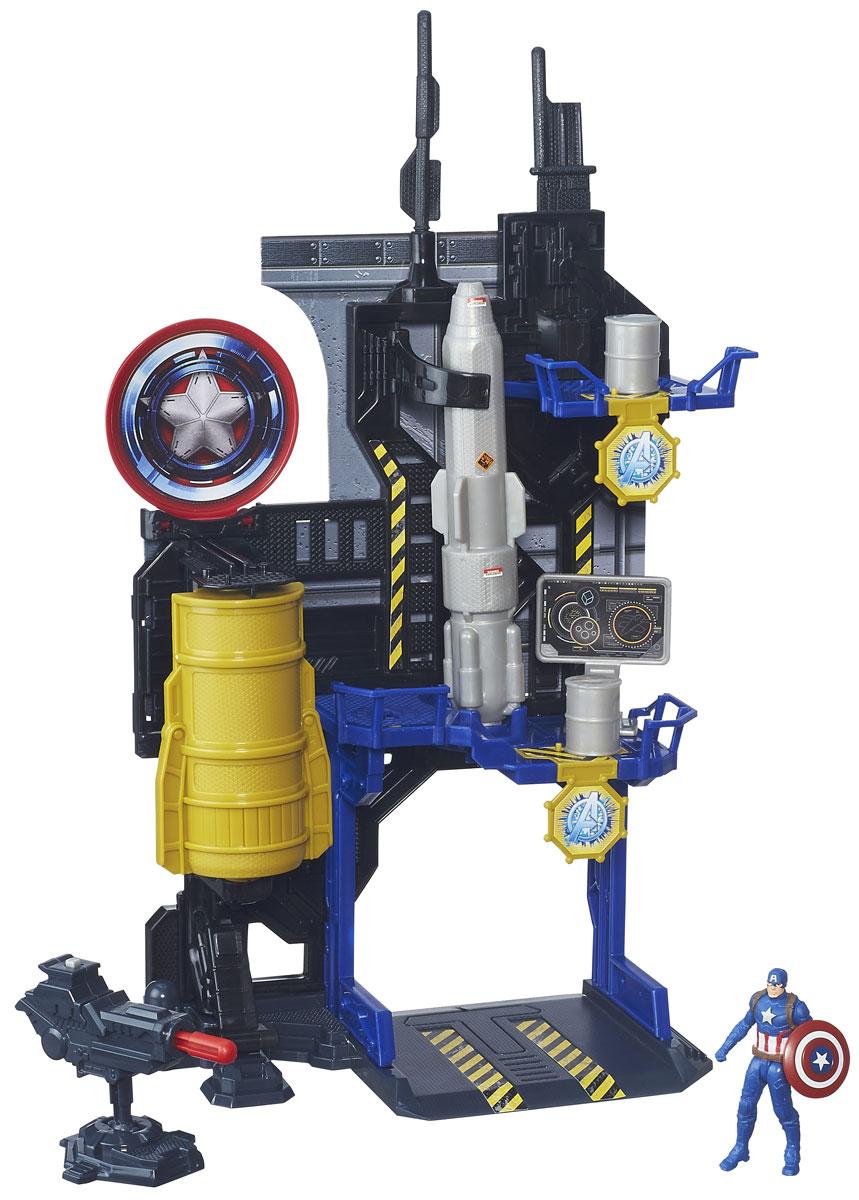 Avengers Игровой набор Captain America BunkerB5770EU4_ B6739Игровой набор Avengers Captain America. Bunker обязательно привлечет внимание вашего малыша. Набор включает в себя сборные элементы и фигурку Captain America. Бункер оснащен стреляющей пушкой и пусковыми механизмами для обстрела врагов бочками. Фигурку можно спрятать в специальном отсеке. Игровой набор позволит вашему ребенку воспроизвести сцену сражения, а также придумать собственный сюжет, также он подарит вашему ребенку массу увлекательного и интересного времяпровождения! Бункер Капитана Америки ребенку предстоит собрать самому - с небольшой помощью взрослых. Элементы наборов Hasbro Мстители сочетаются между собой, так что в итоге можно собрать большую штаб-квартиру Мстителей. Ваш ребенок весело проведет время, играя с набором на детской площадке или в песочнице. А процесс сборки поможет малышу развить мелкую моторику, внимательность и усидчивость. Порадуйте своего малыша таким замечательным подарком!