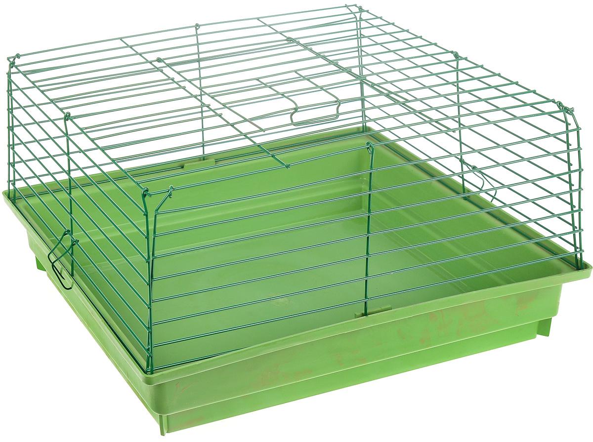 Клетка для кроликов из поддонов