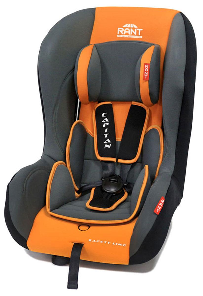 Rant Автокресло Capitan цвет оранжевый до 25 кг