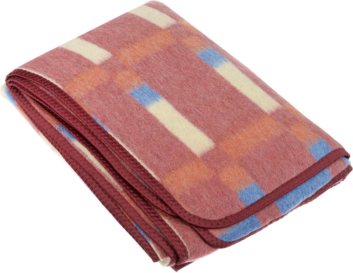 Одеяло полушерстяное Сукно Ласковый май, 140 х 205 см14у57-тяПолушерстяное одеяло Сукно Ласковый май изготовлено из шерсти с добавлением материала ПАН (акриловое волокно) и полиэстера. Оно обладает высокой теплопроводностью, что позволит моментально согреться даже в лютые морозы. Но если вдруг станет жарко - не переживайте: одеяло превосходно впитывает влагу и достаточно быстро высыхает. Вы не испытаете дискомфорта благодаря грамотно подобранному составу и оптимальному размеру. Состав материала: 62% шерсть, 26% ПАН, 12% полиэстер.