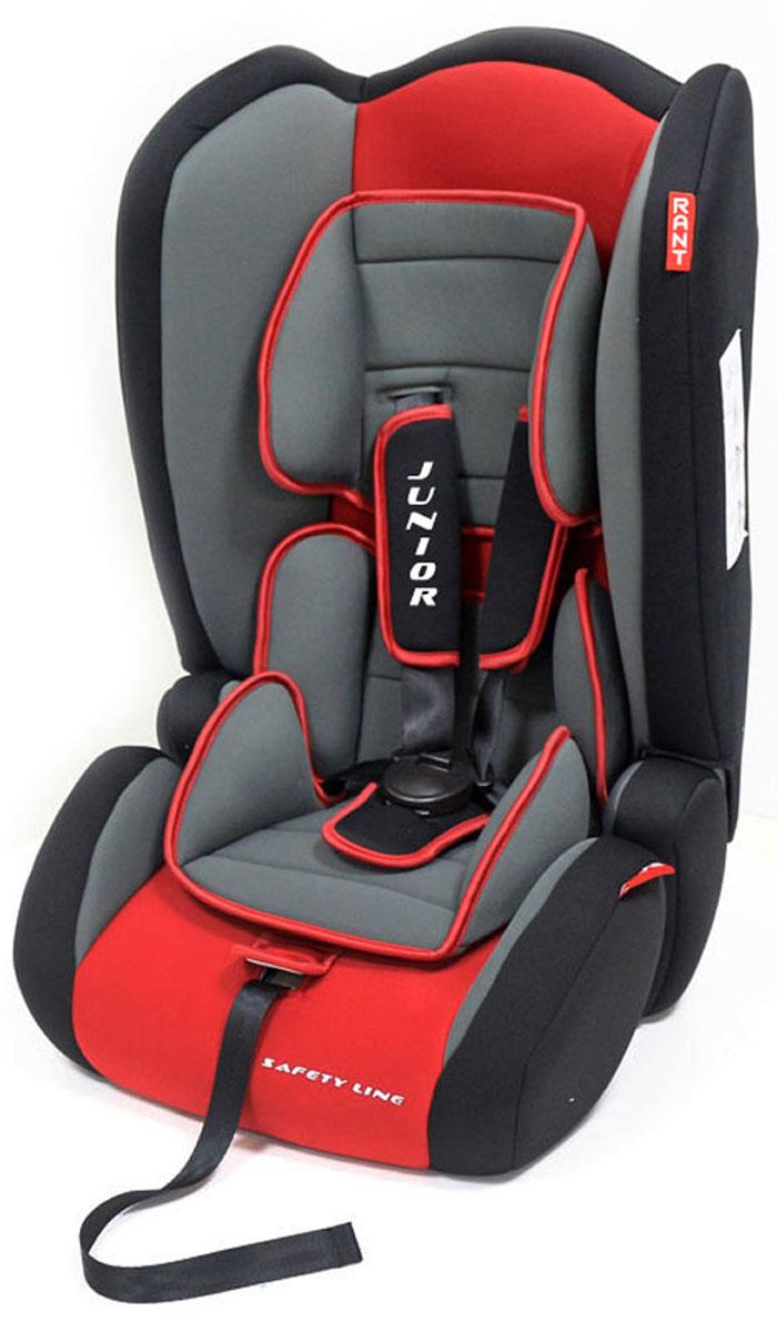 Rant Автокресло Junior цвет красный от 9 до 36 кг