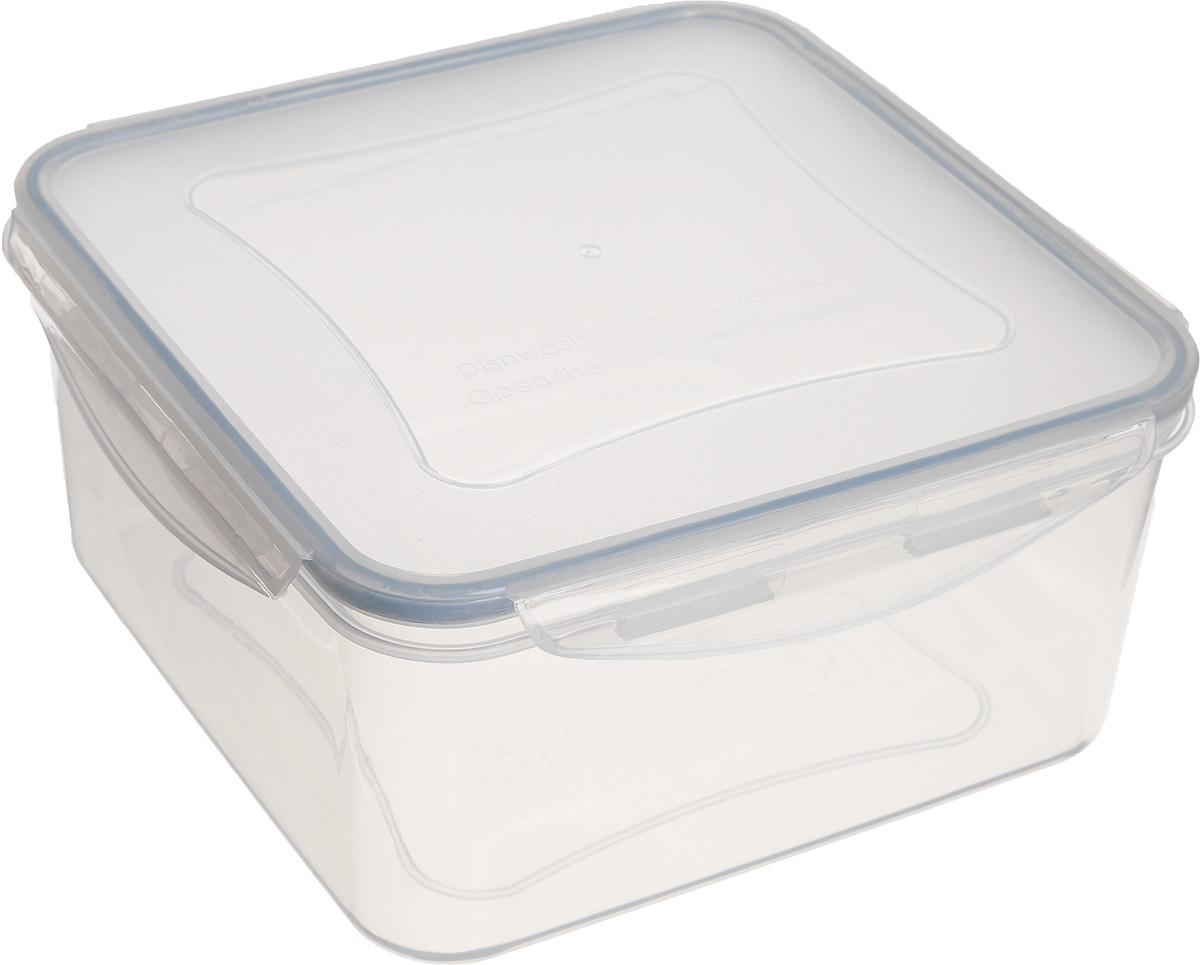 Контейнер Tescoma Freshbox, квадратный, 3 л892018Квадратный контейнер Tescoma Freshbox замечателен для хранения и переноски продуктов. Выполнен из высокопрочной жаростойкой пластмассы, которая выдерживает температуру от -18°С до +110°С. Контейнера снабжен воздухонепроницаемой и водонепроницаемой крышкой с силиконовой прокладкой, которая гарантирует герметичность. Продукты дольше сохраняют свежесть и аромат, а жидкие блюда не вытекают. Контейнер очень вместителен, он отлично подойдет для хранения пищи дома, а также для пикников и выездов на природу. Контейнер пригоден для использования в холодильнике, морозильной камере и микроволновой печи. Допускается мытье в посудомоечной машине.