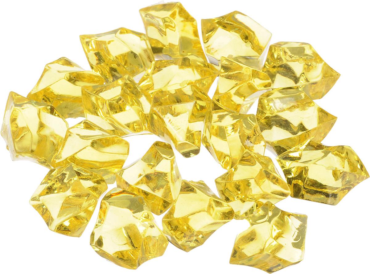 Набор декоративных кристаллов Большие камни, цвет: желтый, 70 г. 824-012824-012_желтыйНабор декоративных кристаллов Большие камни, выполненный из пластика, замечательно подойдет для украшения вашего дома. Его можно использовать для декора интерьера, а также как наполнитель для декоративных ваз. Декоративные кристаллы создают чувство уюта и улучшают настроение. Размер кристалла: 3 х 2 х 2 см.