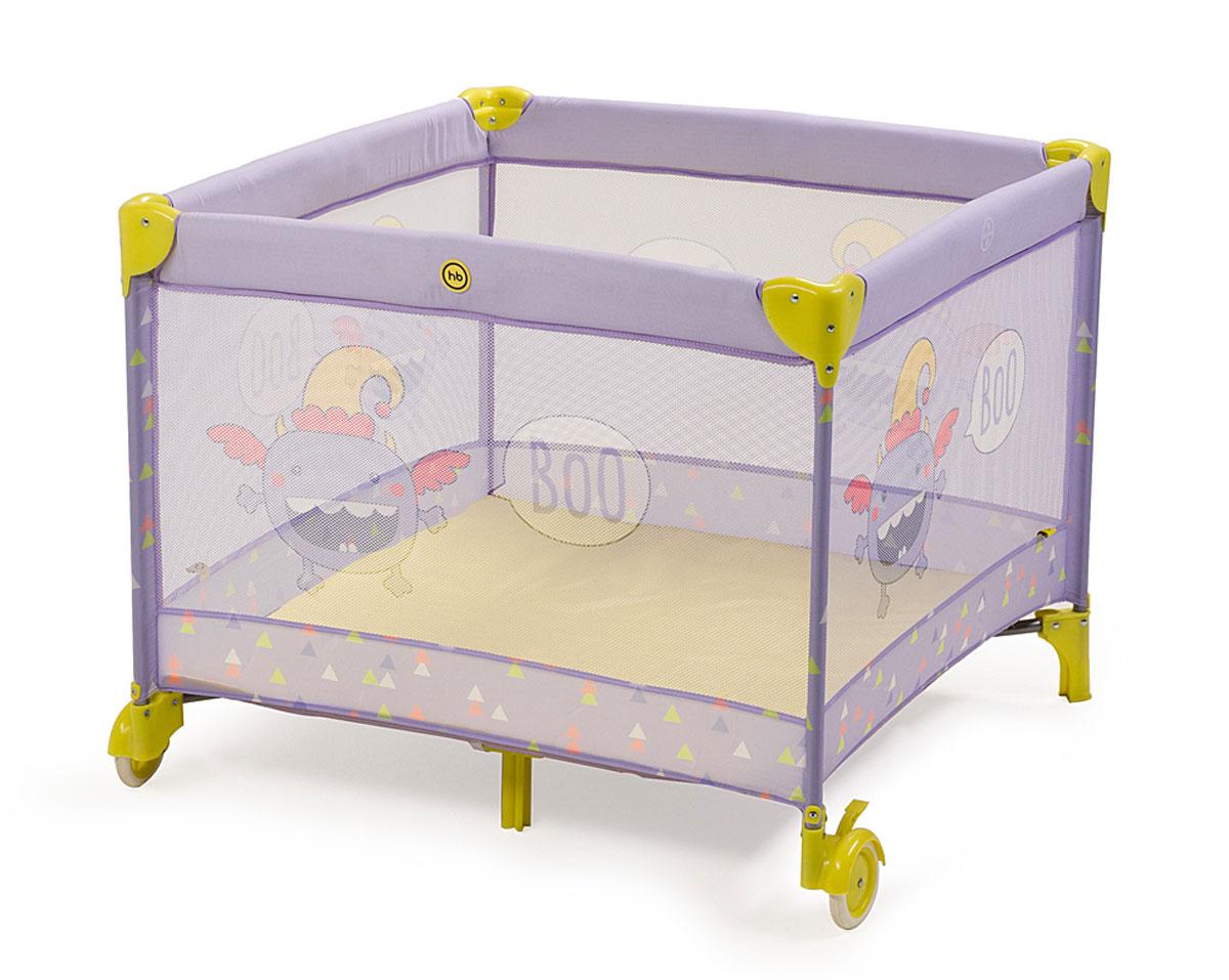 Манеж Happy Baby Alex, цвет: фиолетовый4650069782384добный и практичный манеж Happy Baby (Хэппи Беби) Alex выполнен из современных и легких материалов и предназначен для детей с рождения. Твердое основание манежа отлично подойдет для игр вашего малыша. Большие сетчатые окна обеспечивают вентиляцию, прекрасное освещение и позволяют хорошо видеть малыша. Все углы и опасные для ребенка поверхности защищены специальными накладками. Колесики сделают удобным перемещение манежа по дому. Все используемые материалы экологически чистые, достаточно прочные, приятны на ощупь и не токсичны. В комплект входят сумка для переноски и москитная сетка. Максимальная нагрузка: 25 кг. Рекомендуемый возраст: от 0 до 3 лет.