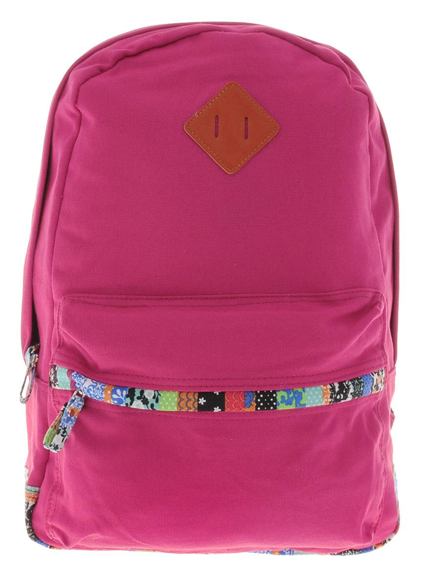 Centrum Рюкзак детский цвет красный мультицвет86901Рюкзак Centrum выполнен из натурально хлопка яркой расцветки. Рюкзак имеет одно вместительно отделение, которое застегиваются на молнию. На лицевой стороне рюкзака расположен большой накладной карман на молнии. Рюкзак оснащен текстильной ручкой для удобной переноски и широкими плечевыми ремнями. Ремни можно регулировать по длине.